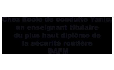Enseignant BAFM